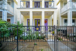 The Heights New Orleans-style home is gorgeous inside with great outdoor space. My client sold it to downsize.