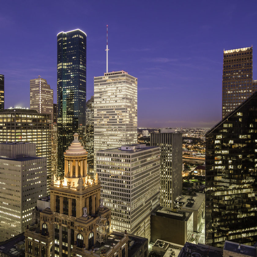 Downtown Houston Skyline - The West Side
